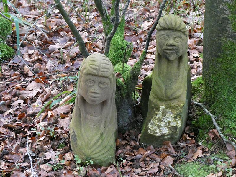 hollows sculptures