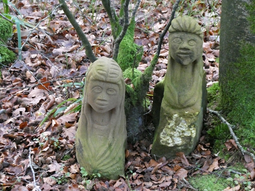 hollows sculptures
