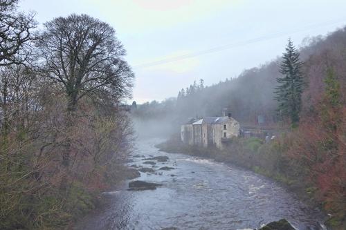 Langholm Distillery mist