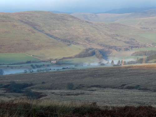 light mist ewes valley