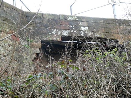 Longtown bridge collapse