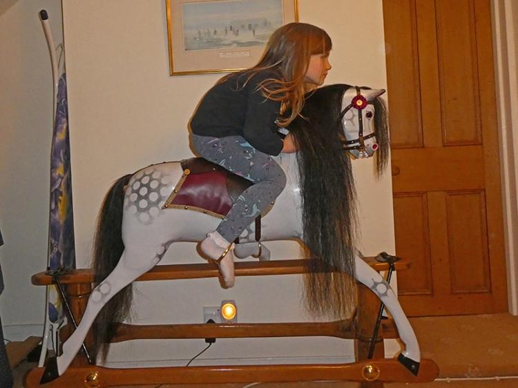 matilda on rocking horse 2
