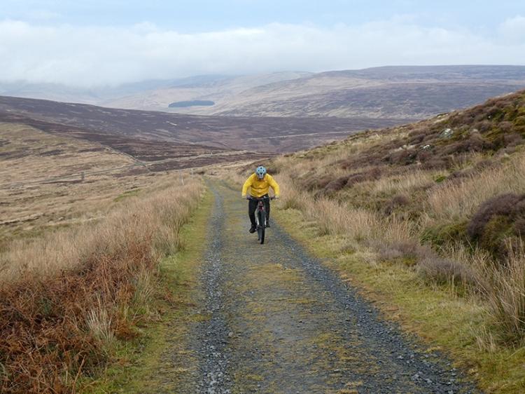 mountain cyclist whita