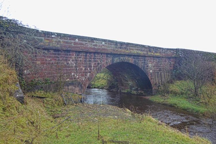 sark bridge at Milltown