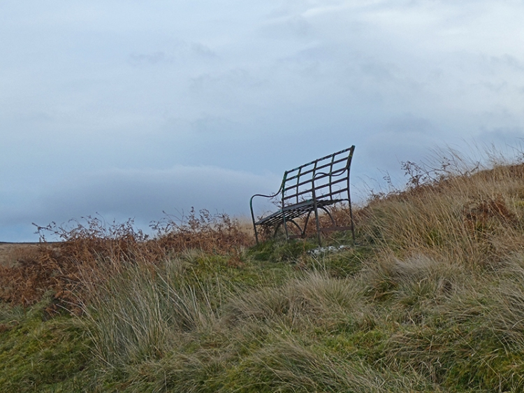 seat on White Yett road