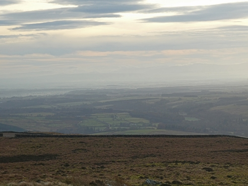 solway plain from edge of whita