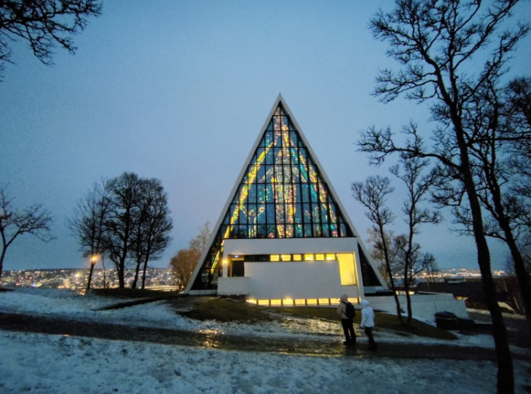 Tromsø Tromsdalen Church or the Arctic Cathedral