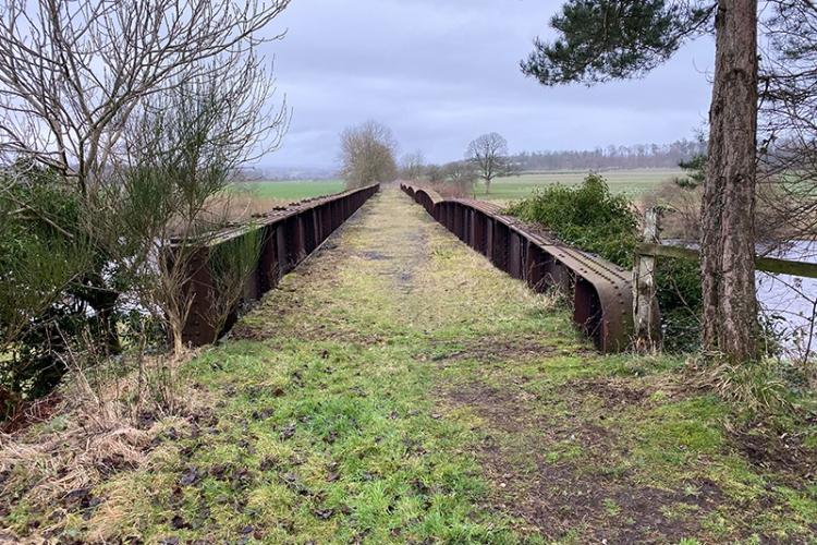 canonbie railway bridge