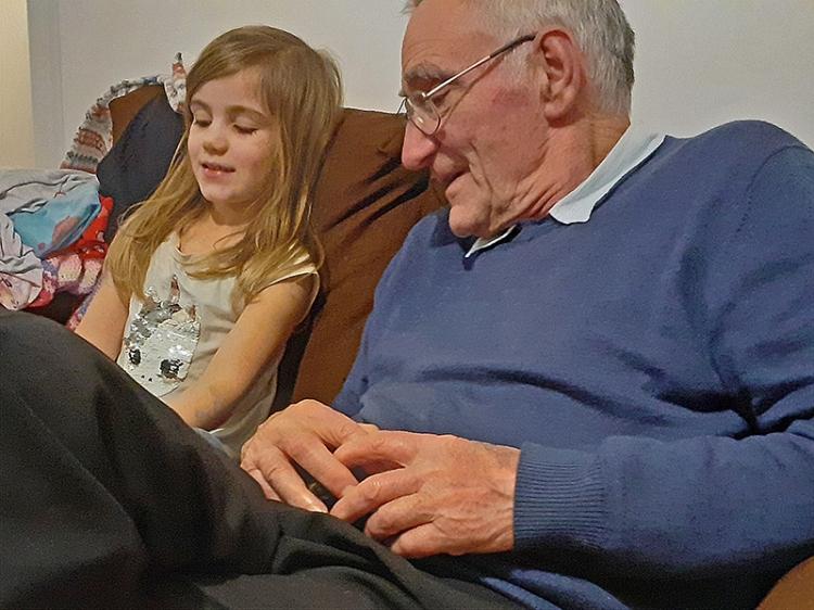 matilda shows grandpa