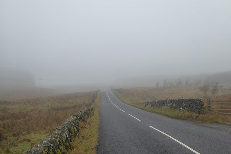 mist over Callister