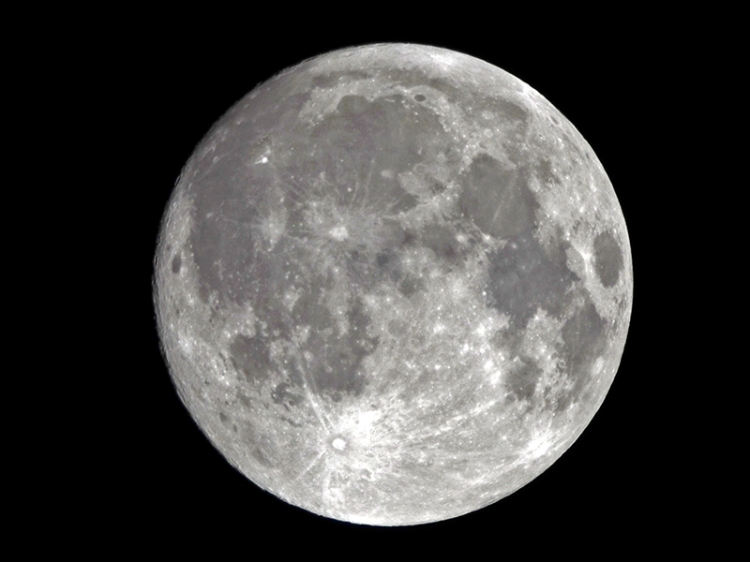 moon nearly full