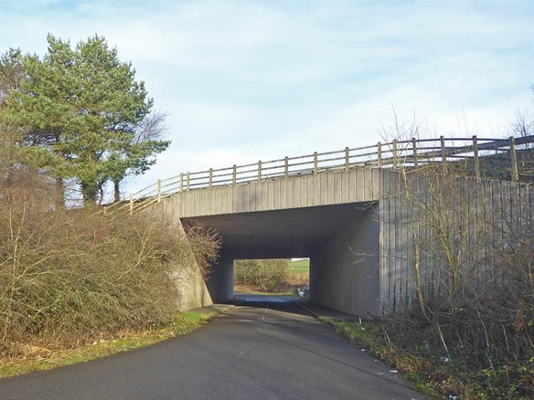 motorway bridge old A74