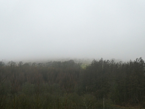 no view of Meikleholm Hill
