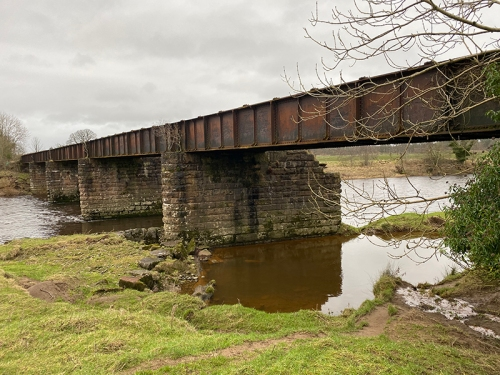 railway bridge kirkandrews