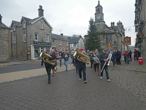 town band new year