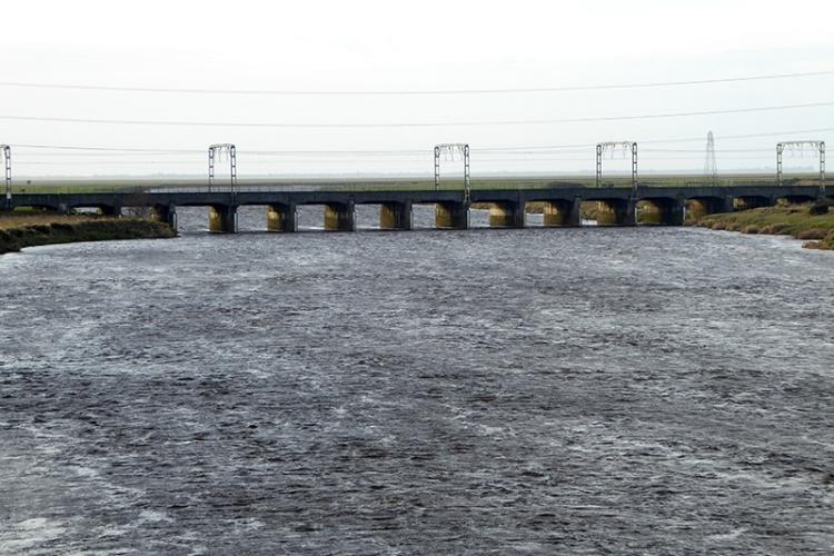 troubled esk at metal bridge