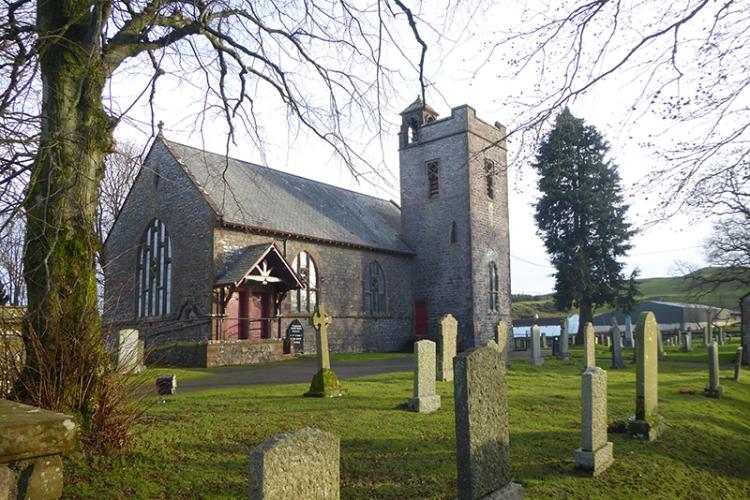 Tundergarth church