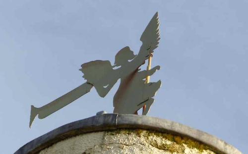venetia's weathervane