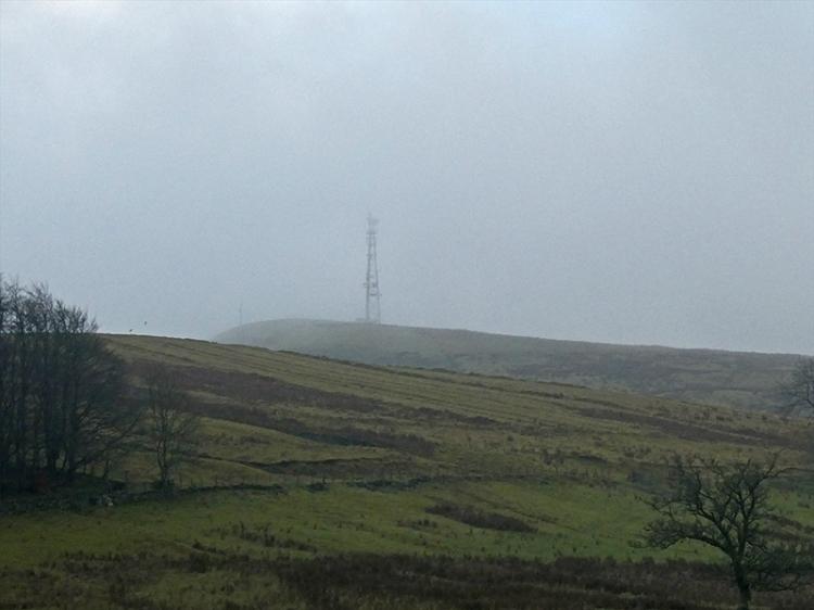 warbla in mist
