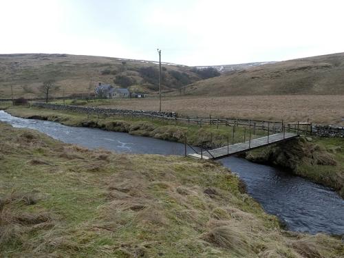 Arkleton Cottage bridge