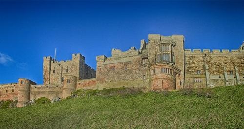 bamburgh castle dennis