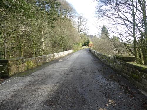 Byreburn bridge A7