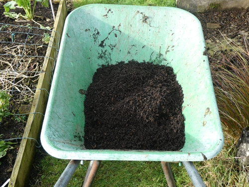 compost in barow