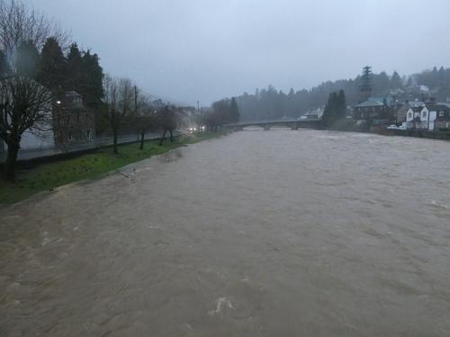esk in flood again