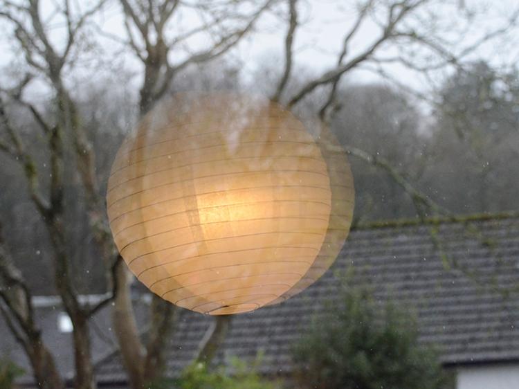 light in window