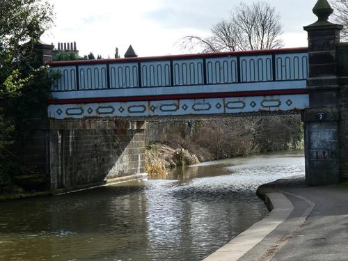 metal bridge union canal