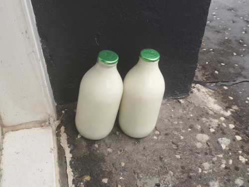 milk bottles east wemyss