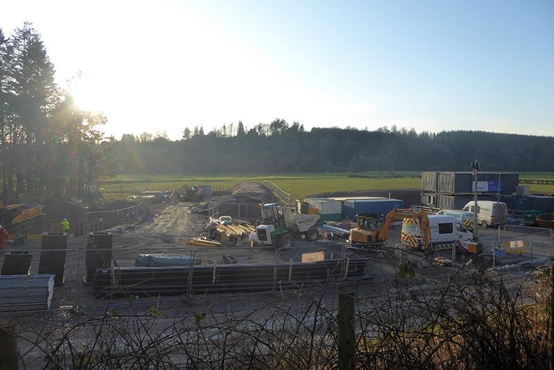 new sewage works canonbie