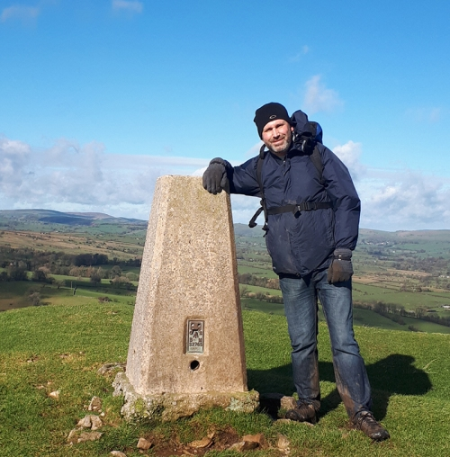 Nick on Ecton Hill