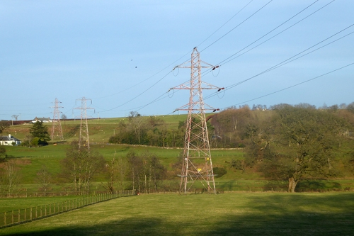pylons at canonbie