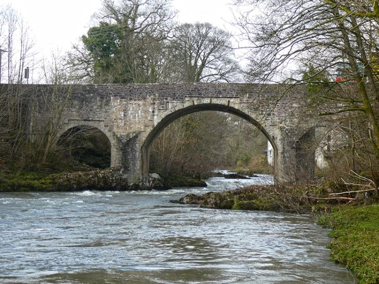 skippers bridge after flood