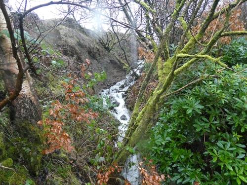 waterfall at Stubholm