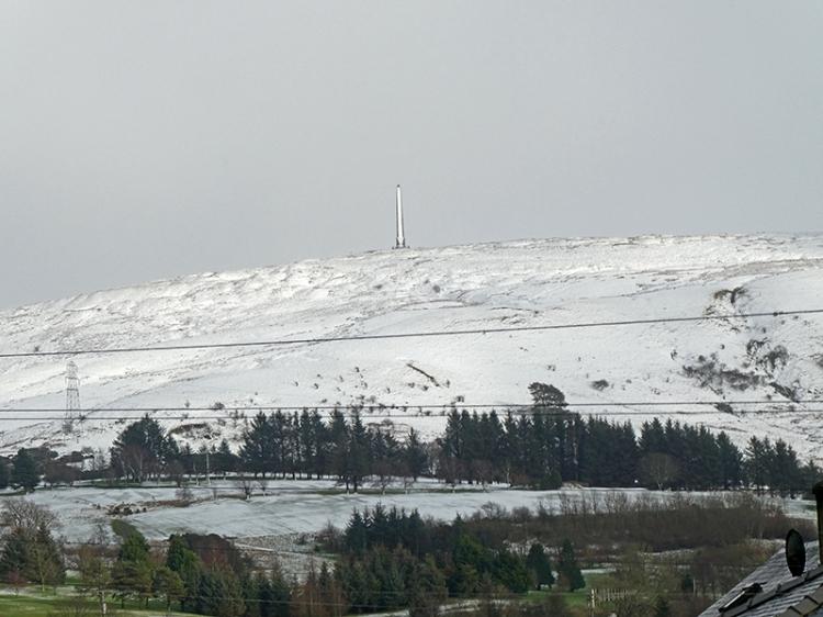 whita with snow
