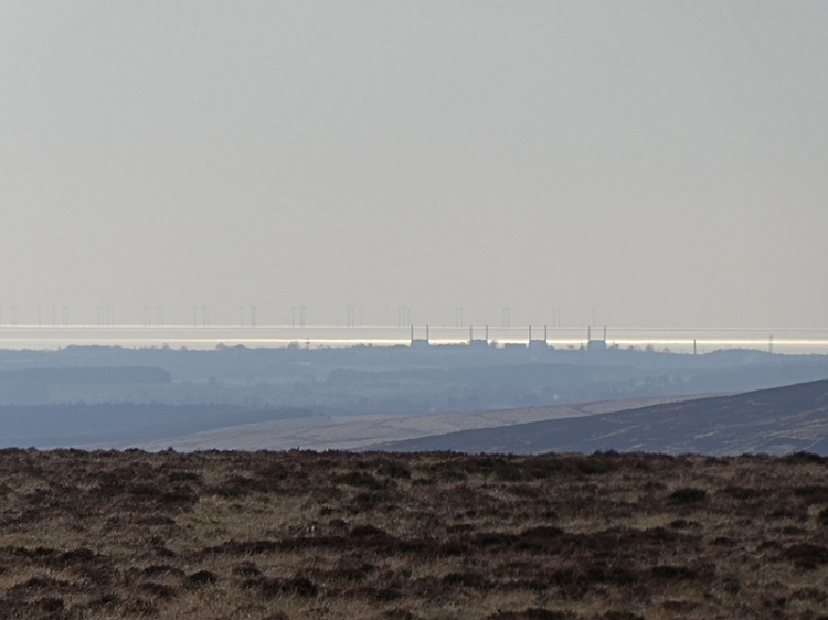 Chapelcross and Solway array from moor