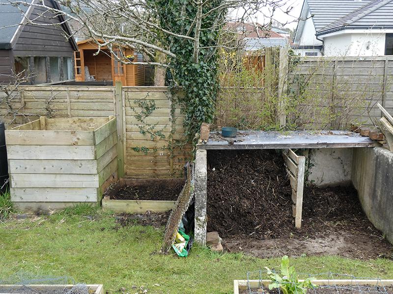 compost in progress