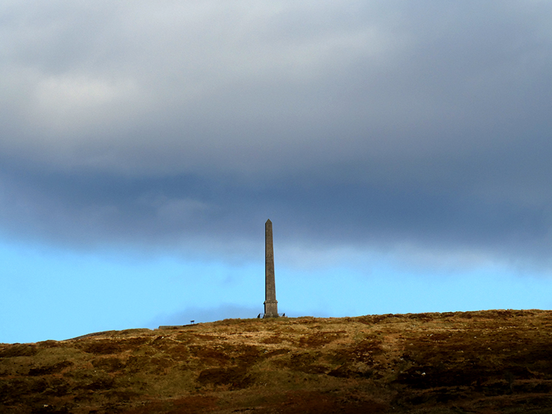 monument and cloud