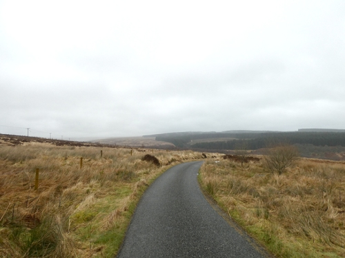 road from laverock hide