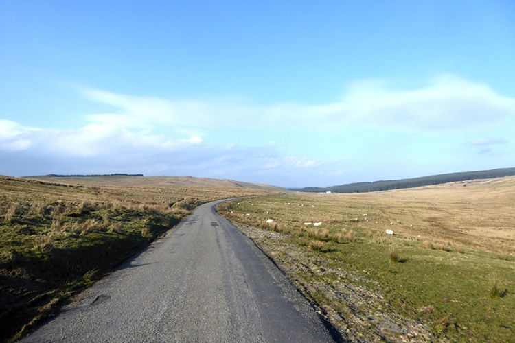 road to bailliehill