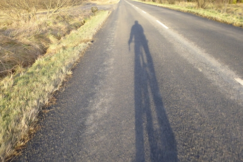 shadow cyclist