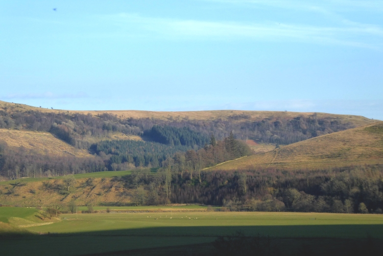 view towards potholm