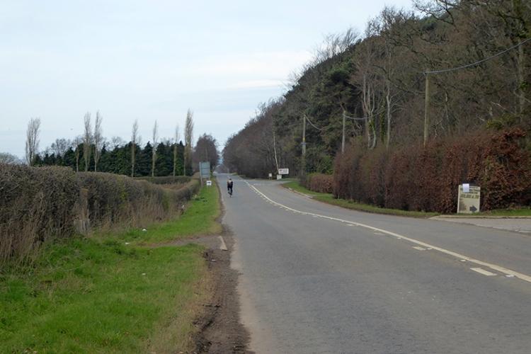 empty Longtown Road april