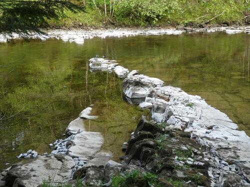 esk from riverside path