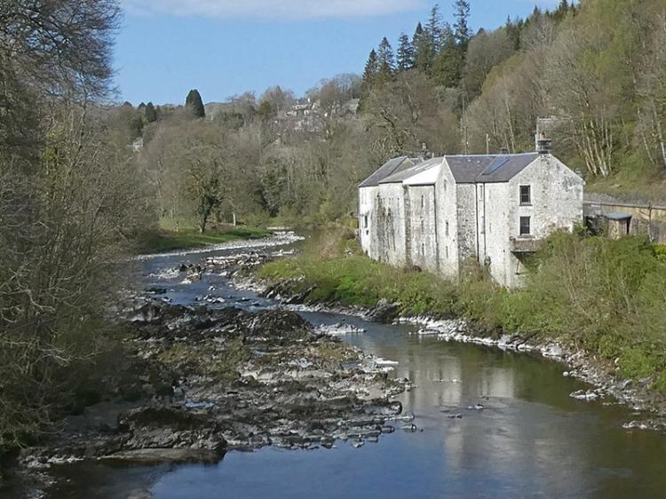Langholm distillery low water