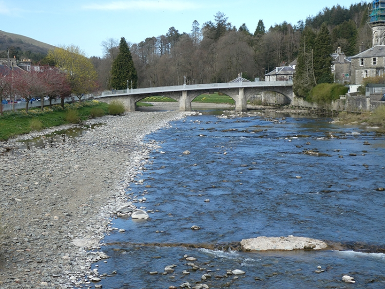 low river april