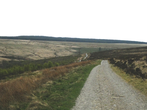 road from Middlemoss