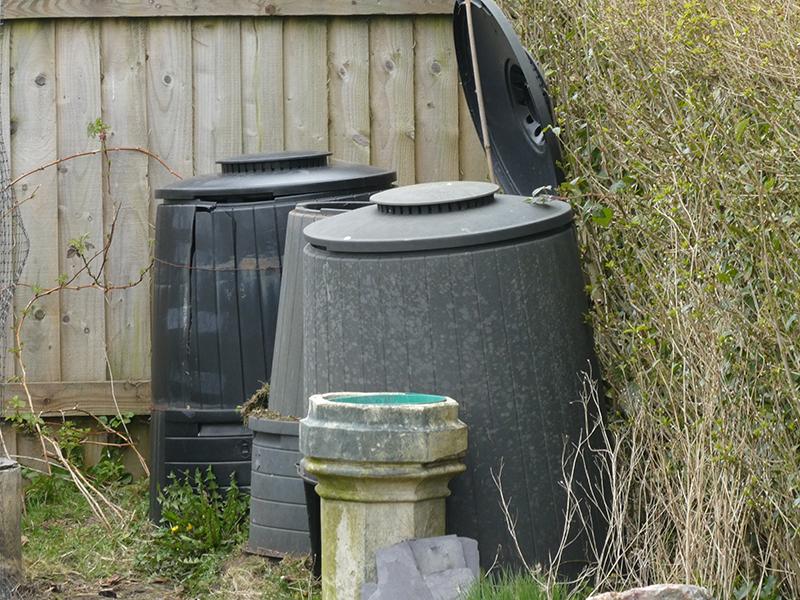 three bins